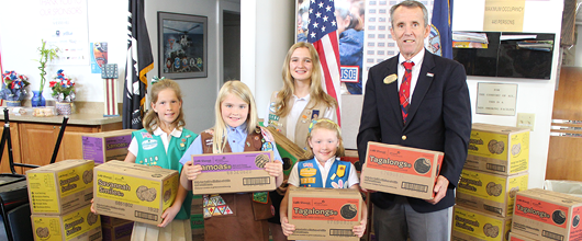 Gift of Caring: Operation USO. During the 2018-19 Girl Scout Cookie ...